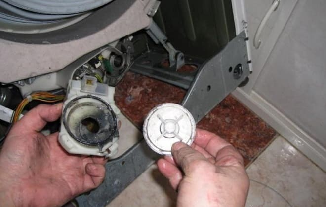 Ремонт помпы в стиралке Бош