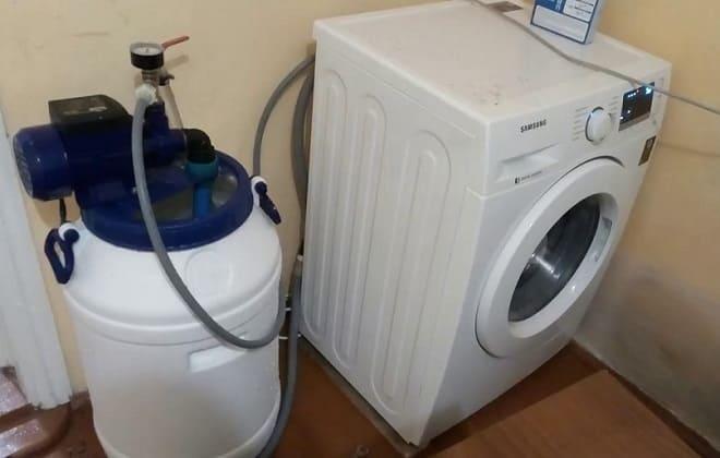 Самостоятельное подключение стиральной машины без водопровода