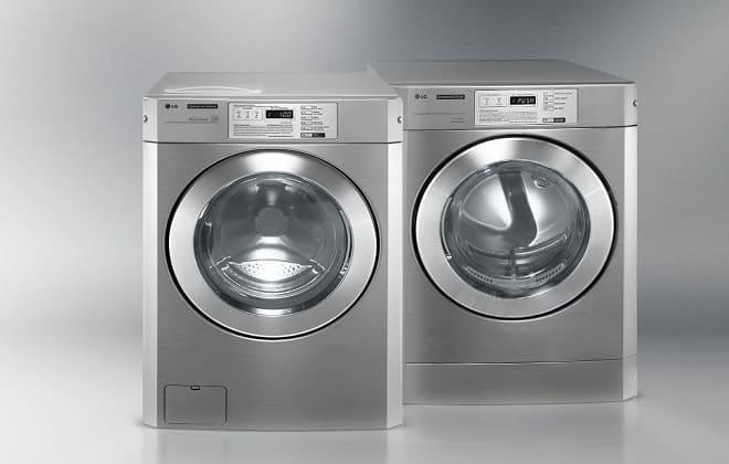 Серые стиральные машины LG