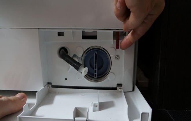 Тросик аварийного открытия люка стиральной машины
