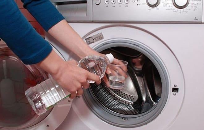 Уксусная кислота для чистки стиральной машины