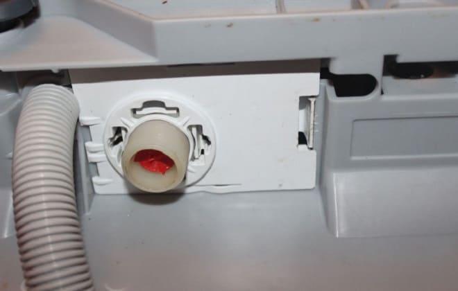 Впускной клапан стиралки