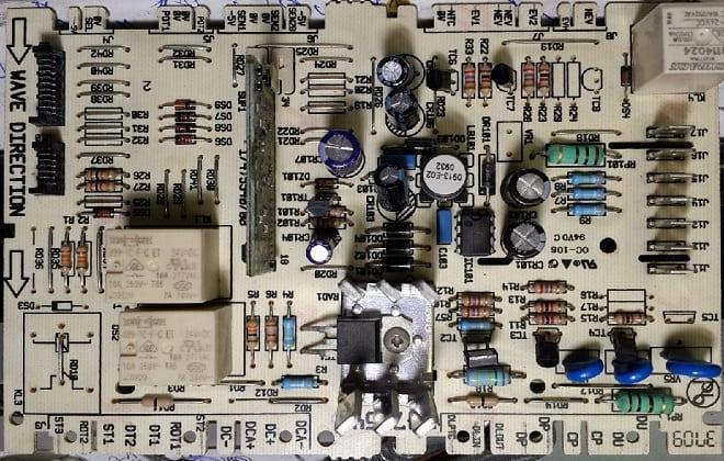 Электронный контроллер стиралки Канди