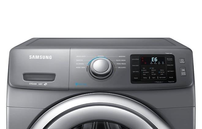 Ошибка Е6 на табло стиральной машины Самсунг