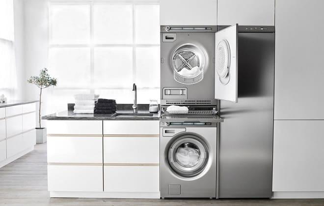 Установка сушильной машины на стиральную машину автомат