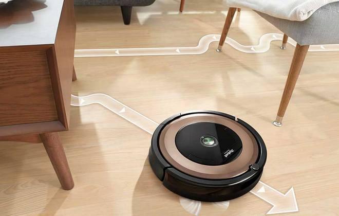Автоматическая уборка помещения