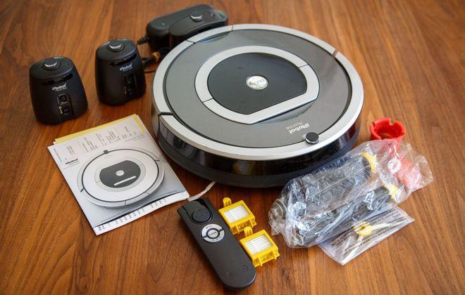 Комплект поставки Roomba