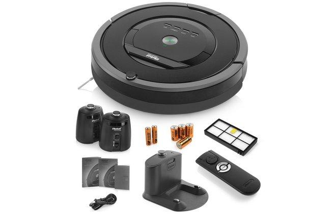 Комплект поставки iRobot