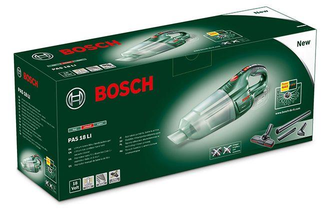 Коробка модели Бош ПАС 18 Ли