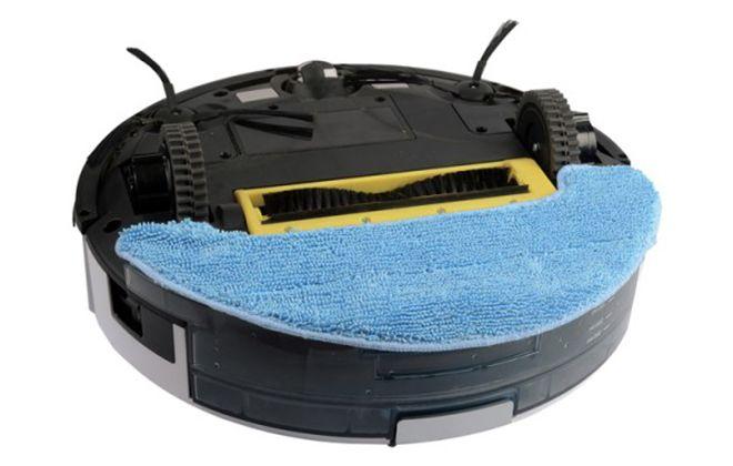 Нижняя панель модели с салфеткой для мокрой уборки