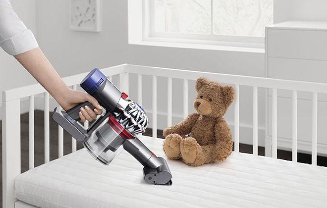Очистка детской кроватки