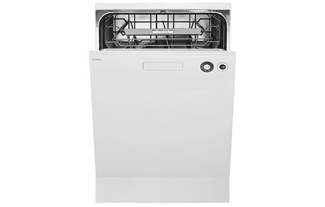 Белая посудомоечная машина Asko D5436W