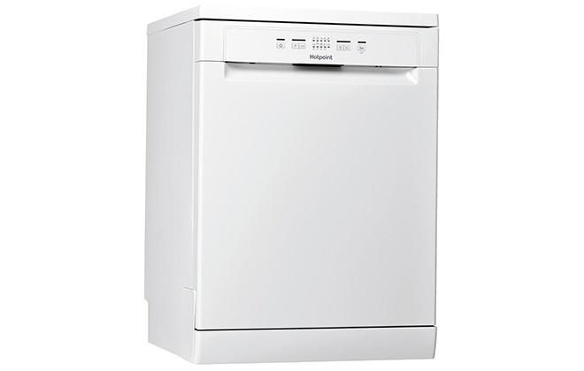 Белая посудомоечная машина Hotpoint-Ariston