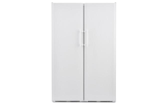 Белый холодильник с двумя дверцами Liebherr SBS 7212