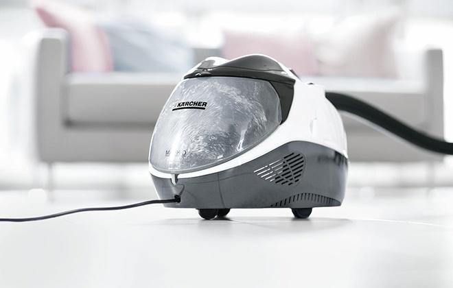 Белый пылесос Karcher SV 7 Premium
