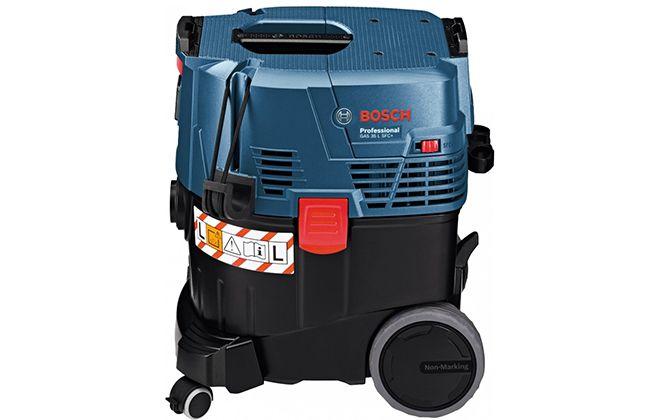 Боковая сторона пылесоса Bosch GAS 35 L SFC