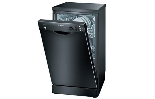 Черная посудомоечная машина Bosch SPS53E06RU