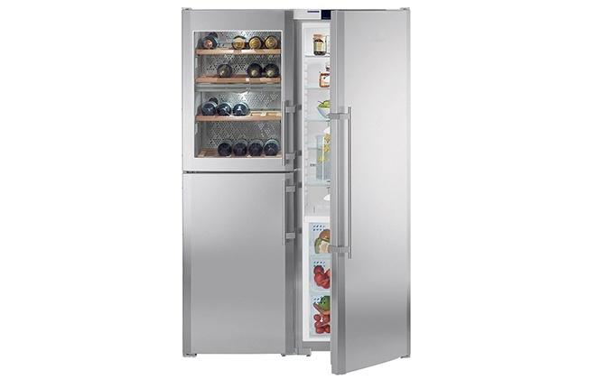 Дизайн холодильника LIEBHERR SBSES 7165