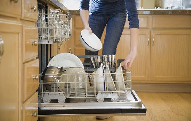 Использование посудомойки