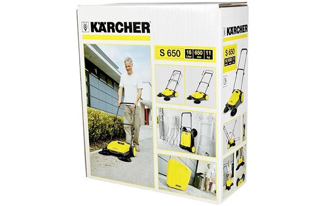 Коробка от подметальной машины Karcher S 650