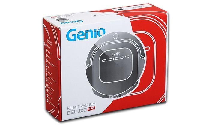 Коробка от робота-пылесоса Genio Deluxe 370