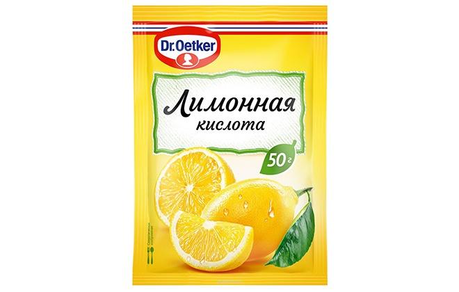 Пакетик лимонной кислоты