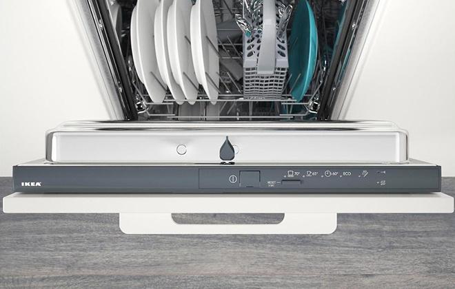 Панель управления посудомойки Икеа Эльпсам