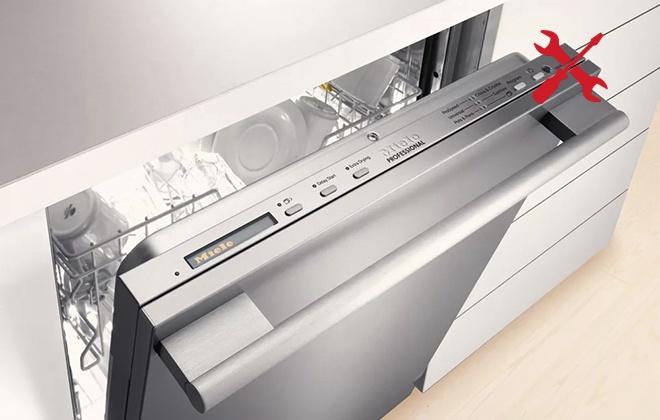 Панель управления посудомойкой Miele