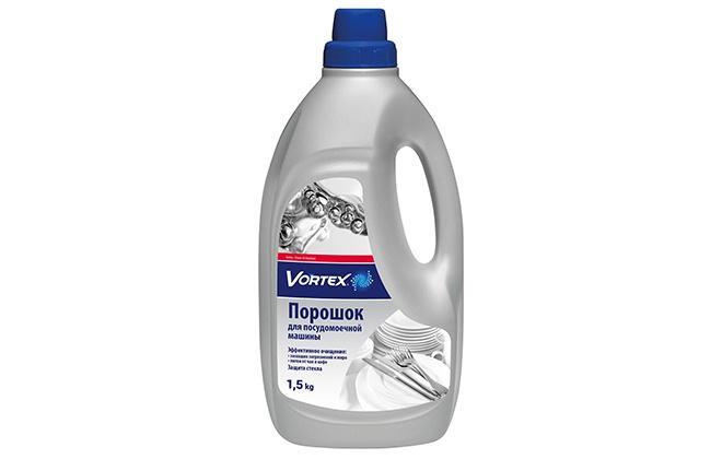 Порошок Vortex в серой бутылке