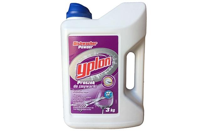 Порошок для посудомоечных машин Yplon в бутылке с ручкой
