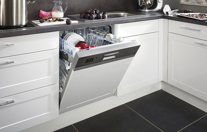 Посудомоечная машина Beko на кухне