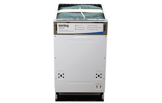 Посудомоечная машина Korting с заводской наклейкой