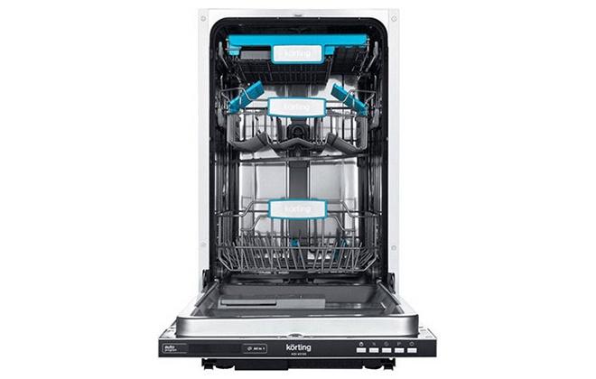 Посудомоечная машина Korting в открытом виде