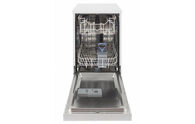 Посудомоечная машина в открытом виде