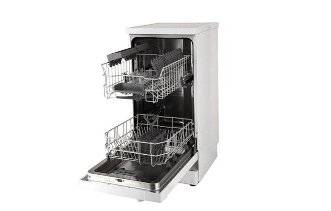 Посудомойка Midea модели MFD45S320W в открытом виде