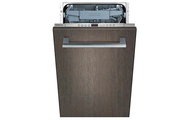 Посудомойка Siemens SR 64M030 с коричневой дверцей