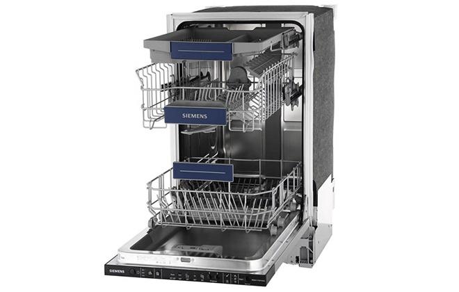 Посудомойка Siemens SR615X72NR в открытом виде