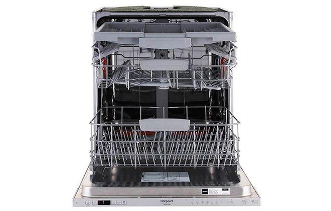 Посудомойка с подставками для посуды внутри