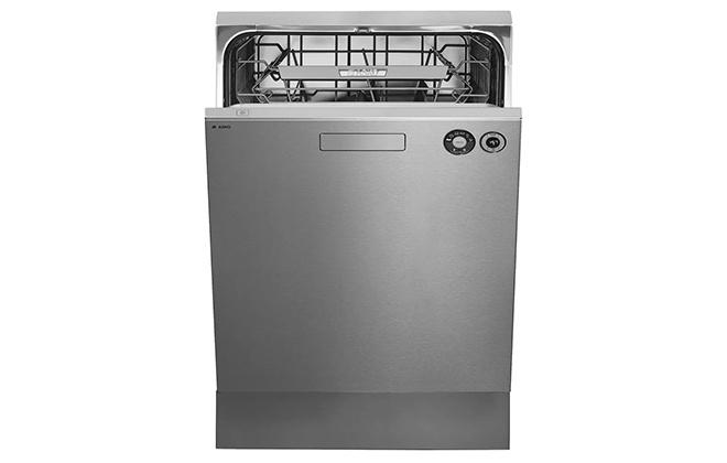 Серебристая посудомойка Asko D5436 S