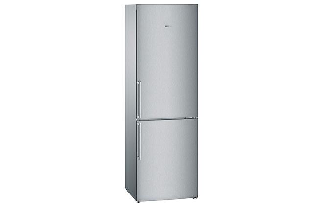 Серебристый холодильник Siemens KG36VXL20