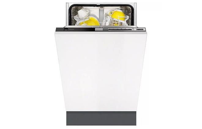 Серо-белая посудомойка Zanussi ZDV 91500