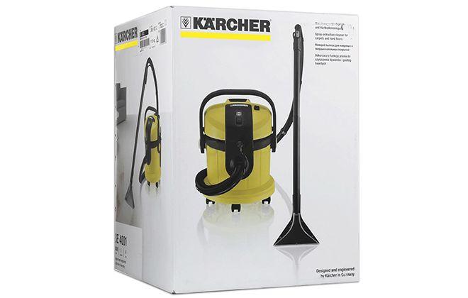 Упаковка от пылесоса Karcher SE 4001