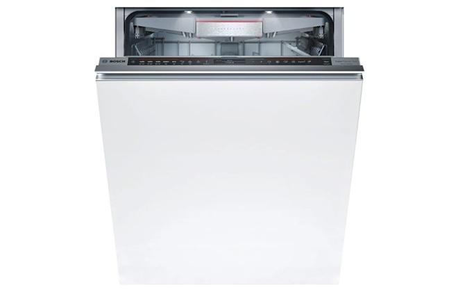 Встраиваемая белая посудомоечная машина Bosch SMV88td55r
