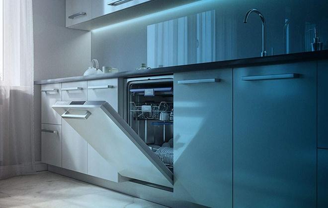 Встроенная посудомойка Midea