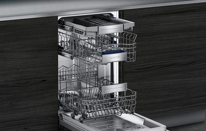 Встроенная посудомойка Сименс SR656D10TR