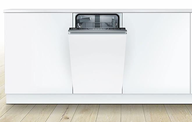 Встроенная в гарнитур посудомойка Bosch SPV25CX01R