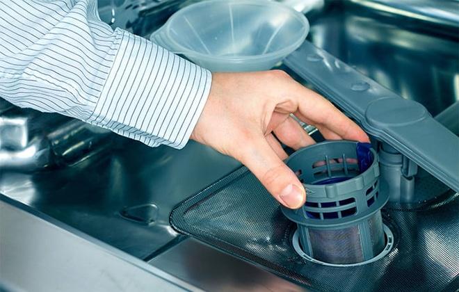 Засор в посудомойке