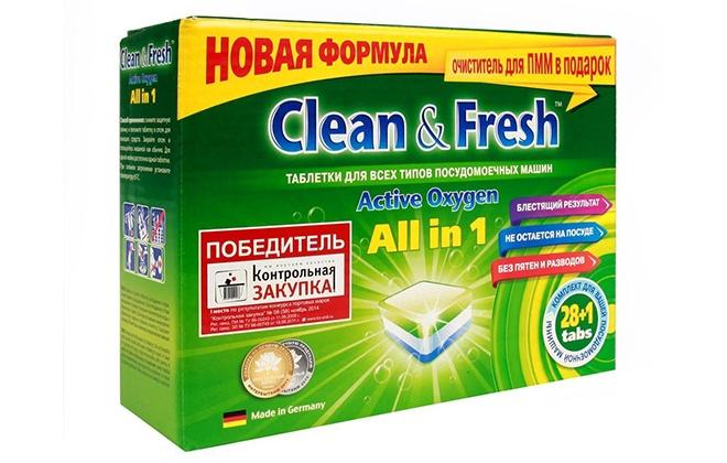 Зеленая упаковка Сlean fresh