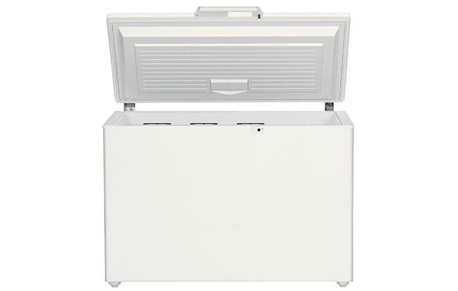 Белый морозильный ларь Libherr GTP 2756