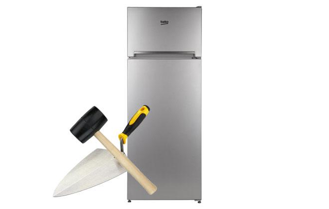 Холодильник и мастерок